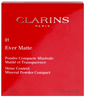Clarins Face Make-Up Ever Matte компактна мінеральна пудра з матуючим ефектом