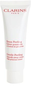 Clarins Exfoliating Care Gentle Peeling Smooth Away Cream With Primrose Extract