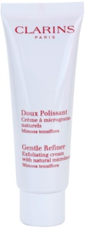 Clarins Exfoliating Care Gentle Refiner Exfoliating Cream with Natural Microbeads