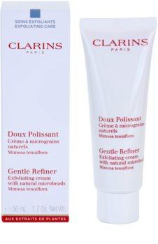 Clarins Exfoliating Care peelinges krém természetes mikrorészecskékkel