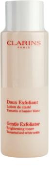 Clarins Exfoliating Care lozione tonica esfoliante delicata illuminante