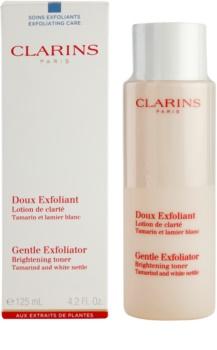 Clarins Exfoliating Care nježni tonik za eksfolijaciju za sjaj lica