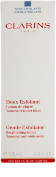 Clarins Exfoliating Care jemné exfoliační tonikum pro rozjasnění pleti