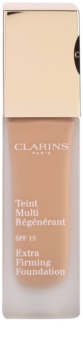 Clarins Face Make-Up Extra-Firming Crèmige Foundation tegen Huidveroudering  SPF 15