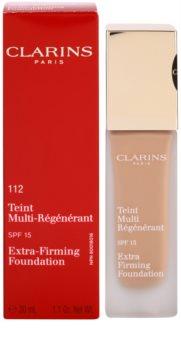 Clarins Face Make-Up Extra-Firming Creme-Make up gegen die Alterung der Haut LSF 15