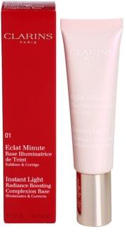Clarins Face Make-Up Instant Light élénkítő sminkalap a make - up alá