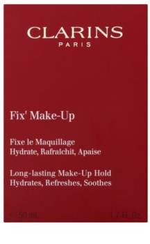 Clarins Face Make-Up Fix' fixačný sprej na make-up