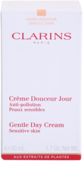 Clarins Gentle Care nappali hidratáló krém az érzékeny arcbőrre