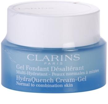 Clarins HydraQuench hydratační gelový krém pro normální až smíšenou pleť