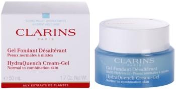 Clarins HydraQuench hydratačný gélový krém pre normálnu až zmiešanú pleť
