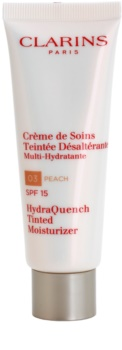 Clarins HydraQuench легкий тонуючий крем із зволожуючим ефектом SPF 15