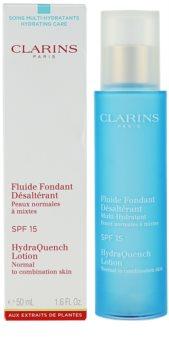 Clarins HydraQuench vlažilna nega za normalno in mešano kožo SPF 15