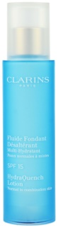 Clarins HydraQuench hidratáló ápolás normál és kombinált bőrre SPF 15