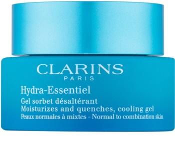 Clarins Hydra-Essentiel hydratačný gél krém pre normálnu až zmiešanú pleť