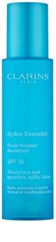 Clarins Hydra-Essentiel hydratisierendes Fluid LSF 15