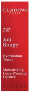 Clarins Lip Make-Up Joli Rouge dlouhotrvající rtěnka s hydratačním účinkem