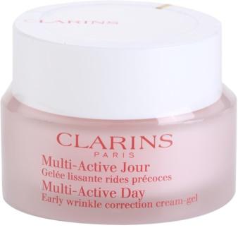 Clarins Multi-Active Crema Gel de zi pentru netezirea liniilor fine pentru piele normala si mixta