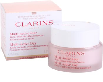 Clarins Multi-Active Early Wrinkle Correction Cream-Gel for Normal to Combination Skin