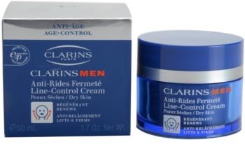 Clarins Men Age Control zpevňující protivráskový krém pro suchou pleť