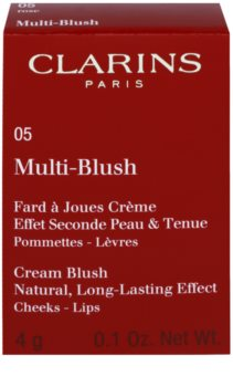 Clarins Face Make-Up Multi-Blush кремові рум'яна для губ та щік