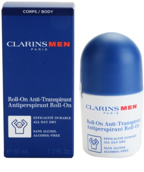 Clarins Men Body antiperspirant roll-on bez alkohola