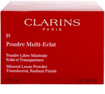 Clarins Face Make-Up Poudre Multi-Eclat loser Mineralienpuder zur Verjüngung der Gesichtshaut