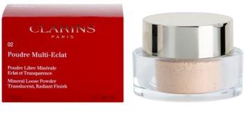 Clarins Face Make-Up Poudre Multi-Eclat розсипчаста мінеральна пудра для сяючої шкіри