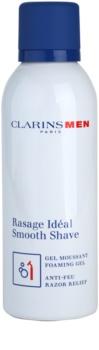Clarins Men Shave gel moussant doux rasage