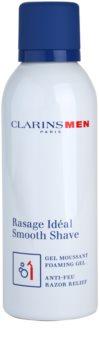 Clarins Men Shave jemný pěnivý gel na holení
