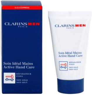 Clarins Men SOS Expert creme para pele das mãos secas e cansadas