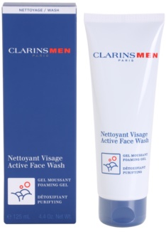 Clarins Men Wash Active Face Wash Foaming Gel