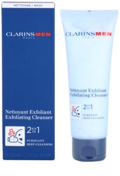 Clarins Men Wash exfoliante de limpieza profunda