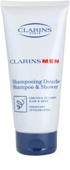 Clarins Men Wash champô refrescante para corpo e cabelo