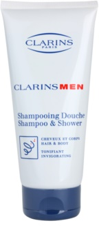 Clarins Men Wash osvežujoči šampon za telo in lase