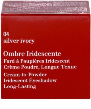 Clarins Eye Make-Up Ombre Iridescente стійкі тіні для повік з перламутровим блиском