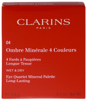 Clarins Eye Make-Up Ombre Minérale hosszantartó szemhéjfesték tükörrel és aplikátorral