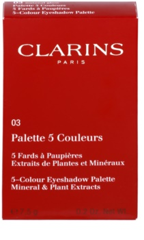 Clarins Eye Make-Up Palette 5 Couleurs paleta očních stínů 5 barev