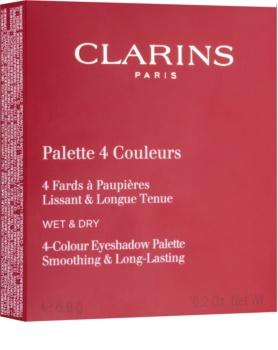 Clarins Eye Make-Up Palette 4 Couleurs Palette mit Lidschatten