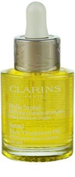 Clarins Rebalancing Care pomirjajoče in regeneracijsko olje za suho kožo