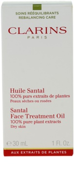 Clarins Rebalancing Care Santal Face Treatment Oil for Dry Skin
