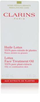Clarins Rebalancing Care aceite regenerador con efecto alisante para pieles grasas y mixtas