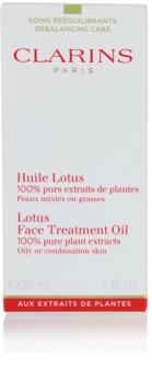 Clarins Rebalancing Care kisimító hatású regeneráló olaj kombinált és zsíros bőrre