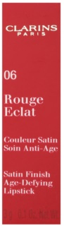 Clarins Lip Make-Up Rouge Eclat pečující rtěnka