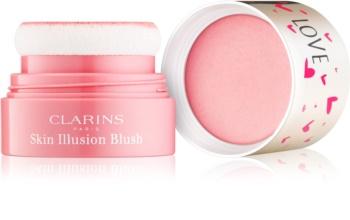 Clarins Face Make-Up Skin Illusion fard de obraz compact
