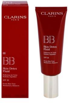 Clarins Face Make-Up BB Skin Detox Fluid BB krema z vlažilnim učinkom SPF 25