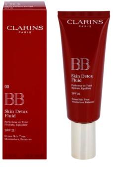Clarins Face Make-Up BB Skin Detox Fluid cremă BB cu efect de hidratare SPF 25