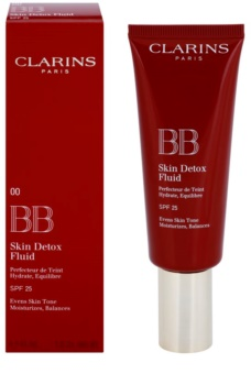 Clarins Face Make-Up BB Skin Detox Fluid Moisturising BB Cream SPF 25