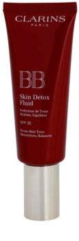 Clarins Face Make-Up BB Skin Detox Fluid hidratáló hatású BB krém SPF 25