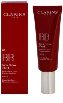 Clarins Face Make-Up BB Skin Detox Fluid BB krema s hidratacijskim učinkom SPF 25