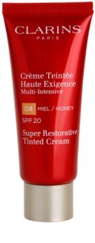 Clarins Super Restorative Regenerating Anti-Wrinkle Tinted Moisturiser SPF 20